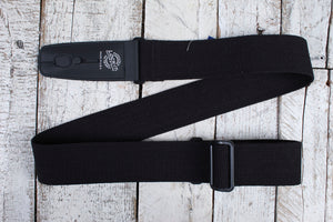 "Lock-It Straps 2"" Cotton Series Strap - Black"