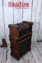 Load image into Gallery viewer, Crate Vintage USA CR-II Solid State Electric Guitar Amplifier Head and Cabinet