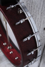 Load image into Gallery viewer, Washburn B7 Americana Series 5 String Open Back Banjo Natural Matte Finish