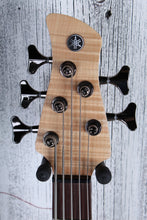 Load image into Gallery viewer, Yamaha TRBX605 FM 5 String Electric Bass Guitar Flame Maple Top Natural Satin