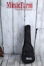 Load image into Gallery viewer, Luna High Tide Tenor Ovangkol Acoustic Electric Ukulele UKE HHT OVA with Gig Bag