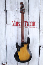 Load image into Gallery viewer, Sterling by Music Man StingRay34 HH 4 String Electric Bass Guitar with Gig Bag