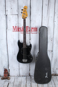 Fender Vintage 1978 Fender Musicmaster 4 String Electric Bass Guitar with Case
