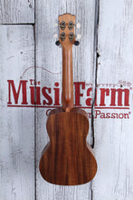 Load image into Gallery viewer, Luna Flamed Acacia Concert Ukulele Satin Natural Finish UKE ACC with Gig Bag