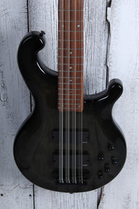 Dean Rhapsody 12 Trans Black 12 String Electric Bass Guitar EMG HH RH12 TBK