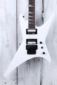 Jackson JS Series Warrior JS32 Solid Body Electric Guitar Snow White Gloss