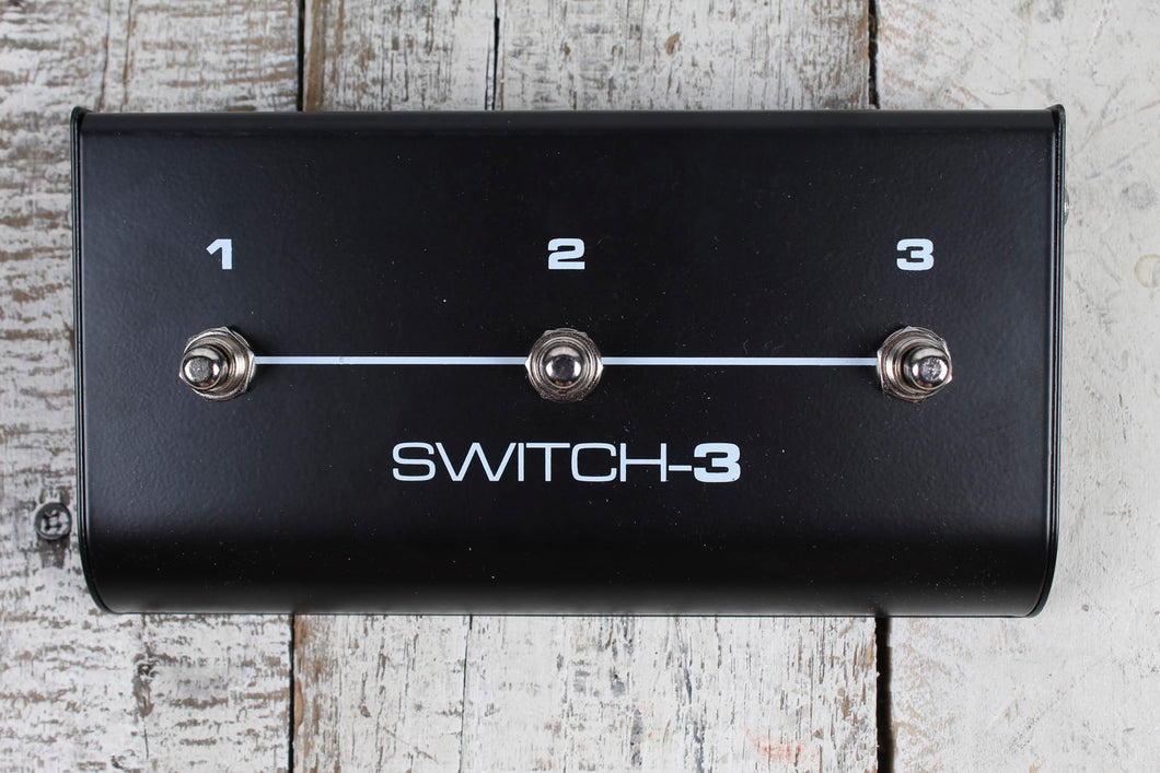 TC-Helicon TC Electronic Switch-3 3-button Footswitch