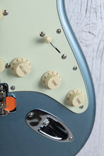 Load image into Gallery viewer, Fender® Vintera '60s Stratocaster Electric Guitar Ice Blue Metallic with Gig Bag