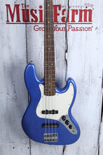 Load image into Gallery viewer, Squier Contemporary Jazz Bass 4 String Electric Bass Guitar Ocean Blue Metallic