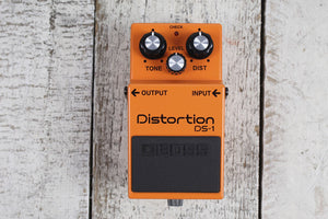 Boss DS-1 Distortion Effects Pedal Electric Guitar and Keyboard Effects Pedal