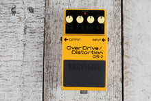 Load image into Gallery viewer, Boss OS-2 Overdrive Distortion Electric Guitar Effects Pedal w Three FREE Cables