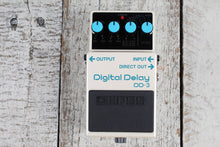 Load image into Gallery viewer, Boss DD-3 Digital Delay Electric Guitar Effects Pedal with Three FREE Cables
