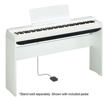 Load image into Gallery viewer, Yamaha P125 White 88 Key Graded Hammer Digital Piano with Power Supply & Pedal