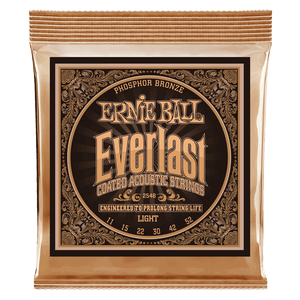 Ernie Ball Everlast Coated Phosphor Bronze - Light