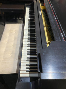 "Steinway & Sons 1912 Model O Grand Piano 5' 10"" Satin Ebony with Bench"