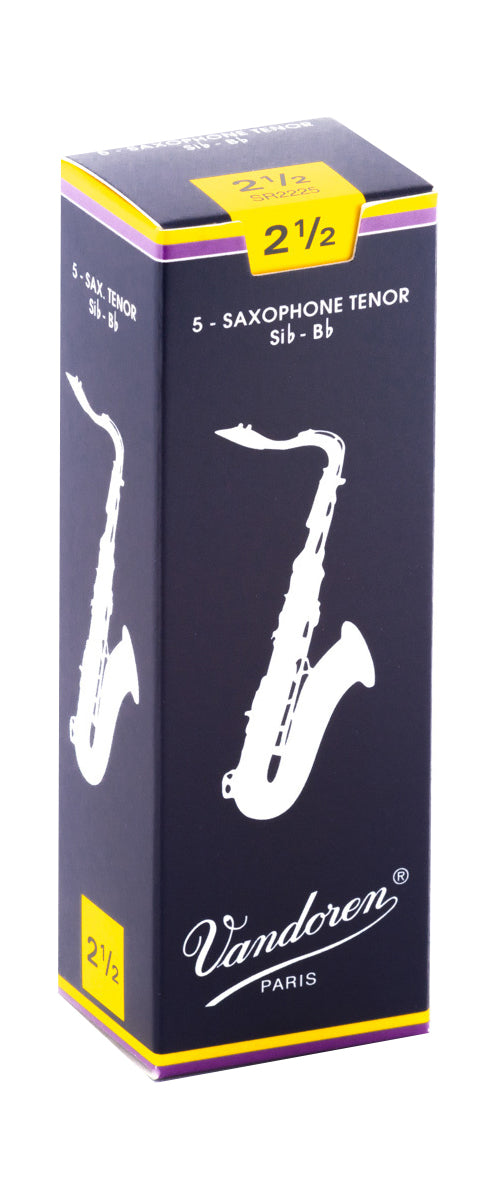 Vandoren Tenor Sax Reeds 2.5 - Single Reed