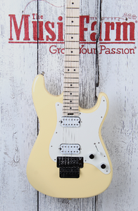 Charvel Pro Mod So Cal Style 1 HH FR M Electric Guitar Vintage White Gloss