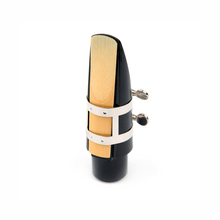 Load image into Gallery viewer, Rico Ligature Tenor Sax - Hard Rubber