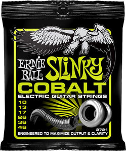 Ernie Ball 2721 Cobalt Regular Slinky 6-String Electric Guitar Strings