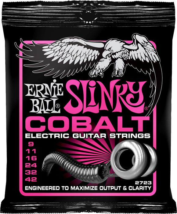 Ernie Ball 2723 Super Slinky Cobalt 6-String Electric Guitar Strings