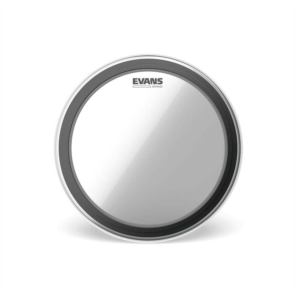 Evans Clear EMAD Bass Drum Head