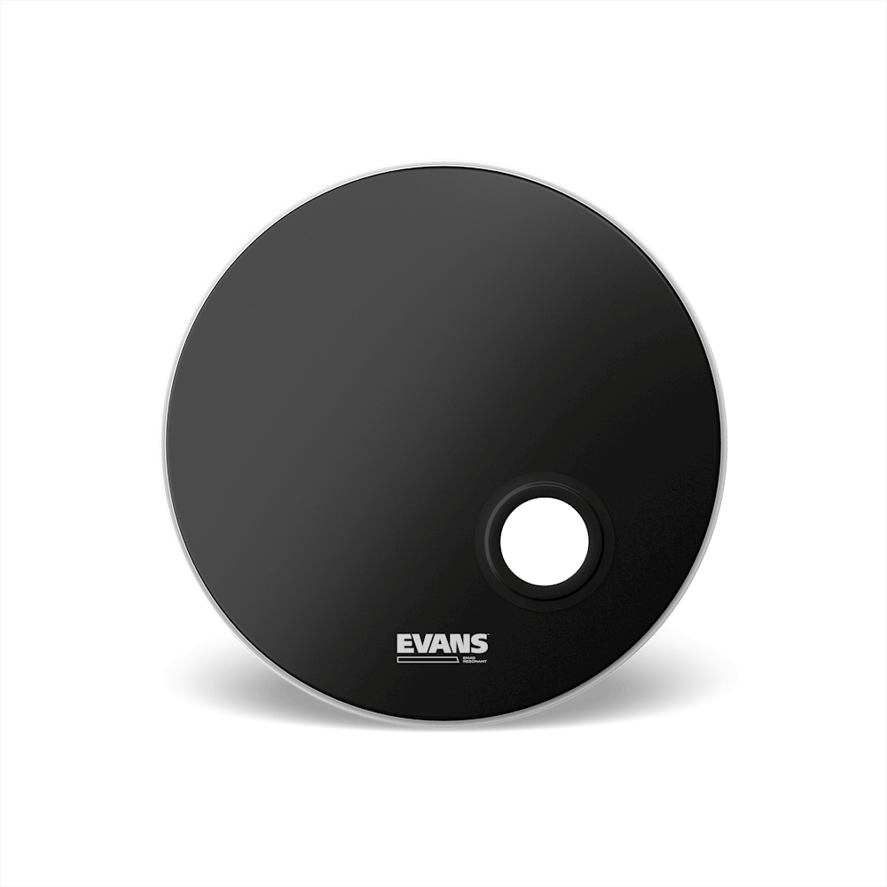 Evans Emad Reso Black Drum Head