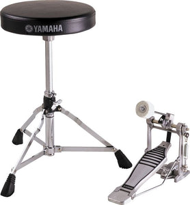 Yamaha Bundle Drum Throne and Drum Kick Pedal Hardware Package FPDS2A