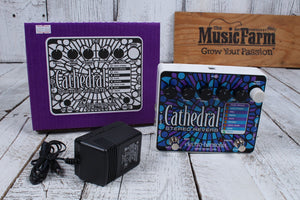 Electro Harmonix Cathedral Stereo Reverb Electric Guitar Effect Pedal w Warranty