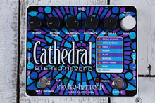Load image into Gallery viewer, Electro Harmonix Cathedral Stereo Reverb Electric Guitar Effect Pedal w Warranty