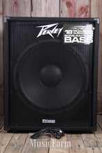 Load image into Gallery viewer, Peavey PV 118D Powered 18 Inch Subwoofer Cabinet 300 Watt Active Sub Cab w DDT