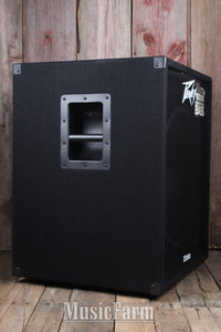 Peavey PV 118D Powered 18 Inch Subwoofer Cabinet 300 Watt Active Sub Cab w DDT
