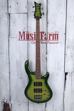 Load image into Gallery viewer, Dean Edge 3 4 String Electric Bass Guitar DMT HH Green Metallic Burst E3 EGMB