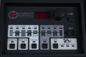Used Digitech Element ELMT Multi FX w/Power Supply