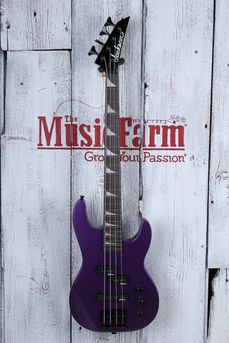 Jackson JS1X CB, Minion AH FB - P Purple w/ Gig Bag
