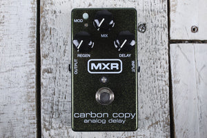 MXR M169 Carbon Copy Analog Delay Pedal Electric Guitar Effects Pedal All Analog