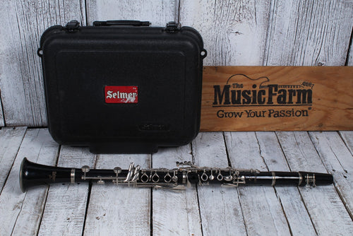 Used Selmer Student Clarinet w Case