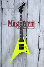 Load image into Gallery viewer, Jackson JS1X RR Minion AH FB Neon Yellow w/ Gig Bag