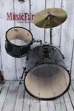 Load image into Gallery viewer, ddrum D2 Rock Complete 4 Piece Drum Set with Hardware Black Sparkle D2R BLK SPKL