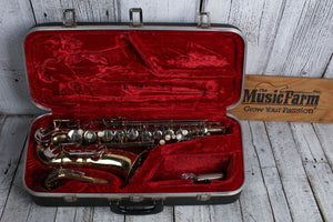 Used Armstrong Alto Saxophone with Case