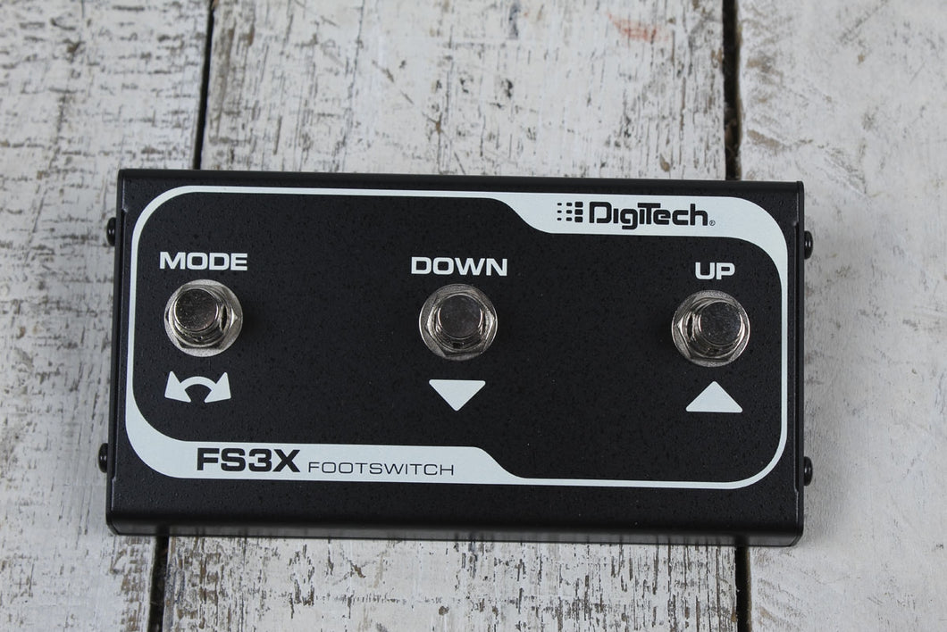 DigiTech FS3-X 3 Button Footswitch Electric Guitar Foot Switch Effects Selector