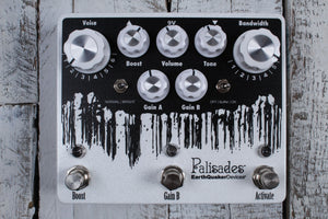 EarthQuaker Devices Palisades Overdrive Electric Guitar Effects Pedal w Warranty