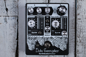 EarthQuaker Data Corrupter Modulated Monophonic Harmonizing Guitar Effects Pedal