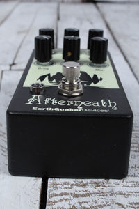 EarthQuaker Devices Afterneath Version 2 Electric Guitar Reverb Effects Pedal