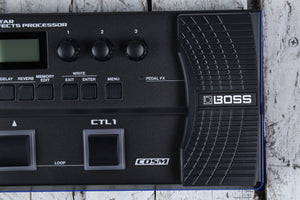 Boss GT‑1 Electric Guitar Multi Effects Processor Pedal with Tone Central GT1