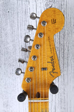 Load image into Gallery viewer, Fender® Custom Shop LTD 58 Stratocaster Electric Guitar Heavy Relic w Case and C