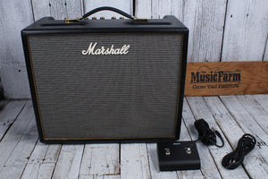 Marshall Origin 20 Electric Guitar Amplifier 20 Watt Tube Combo Amp w Footswitch