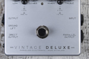 Darkglass Electronics Vintage Deluxe V3 Bass Guitar Preamp Effects Pedal