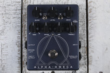 Load image into Gallery viewer, Darkglass Alpha Omega Dual Bass Preamp/Overdrive Bass Guitar Effects Pedal