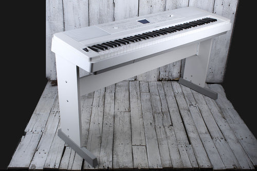 Yamaha DGX660 WH 88 Weighted Key Portable Grand Digital Piano with Stand White