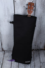Load image into Gallery viewer, On Stage Concert Ukulele Padded Gig Bag Uke Backpack with Straps Black GBU4204B